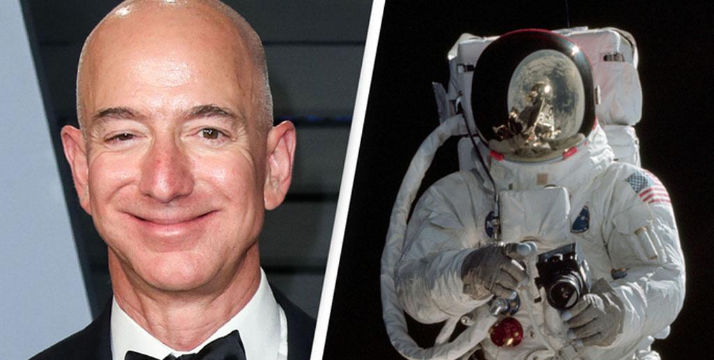 جف بزوس برای سفر به ماه به ناسا 2 میلیارد دلار کمک می کند !